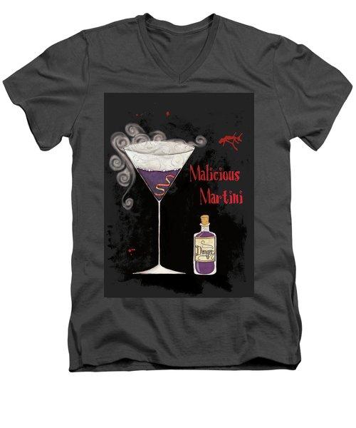 Pick Your Poison I Men's V-Neck T-Shirt by Elyse Deneige