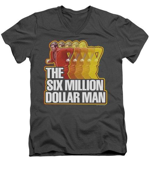 Smdm - Run Fast Men's V-Neck T-Shirt by Brand A