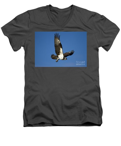 Take Flight Men's V-Neck T-Shirt by Mike  Dawson