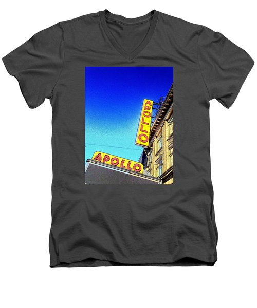 The Apollo Men's V-Neck T-Shirt by Gilda Parente