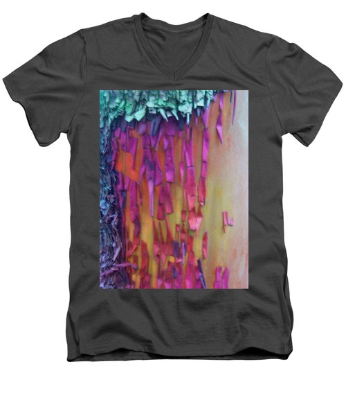 Men's V-Neck T-Shirt featuring the digital art Imagination by Richard Laeton
