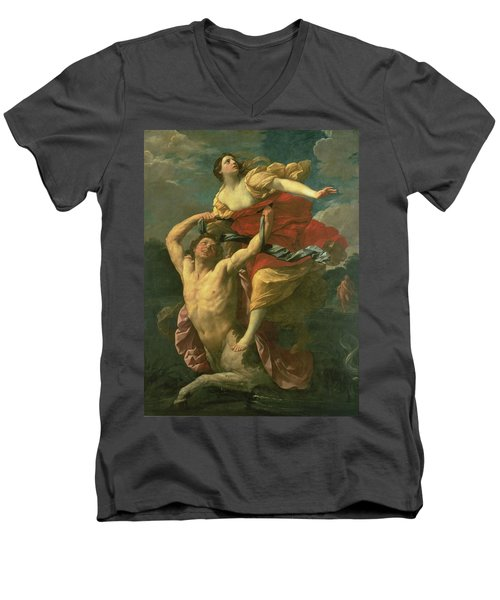 The Abduction Of Deianeira Men's V-Neck T-Shirt by  Centaur Nessus