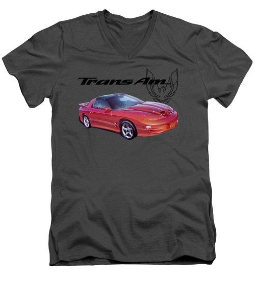 1999 Trans Am Men's V-Neck T-Shirt by Paul Kuras