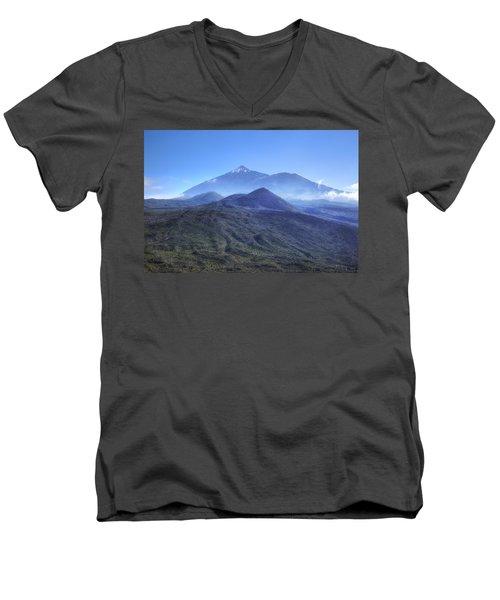 Tenerife - Mount Teide Men's V-Neck T-Shirt by Joana Kruse