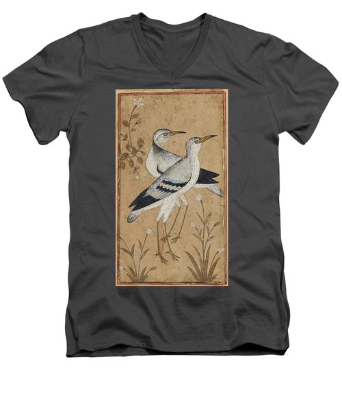 A Pair Of Lapwings Men's V-Neck T-Shirt by MotionAge Designs