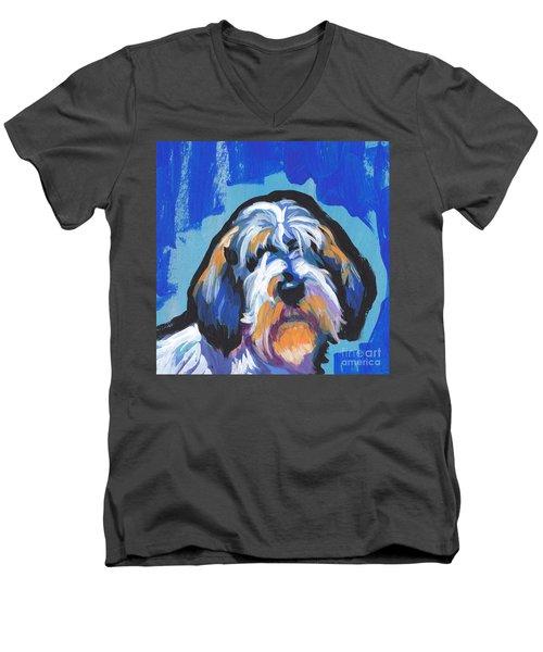All Rhymes Pbgv Men's V-Neck T-Shirt by Lea S