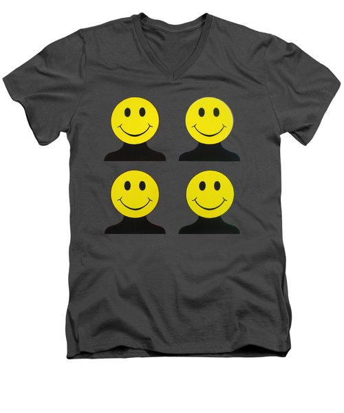 Andy Called It Acieed Remix Men's V-Neck T-Shirt by Oliver Johnston