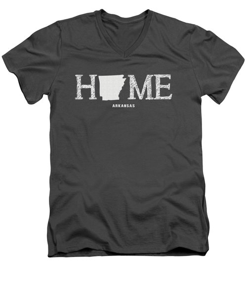 Ar Home Men's V-Neck T-Shirt by Nancy Ingersoll