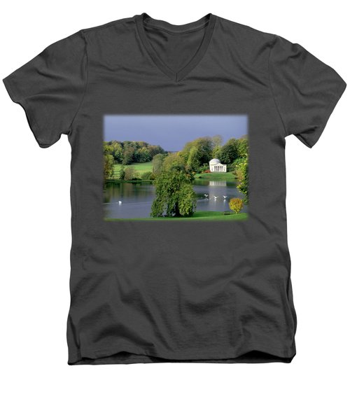 Before The Storm Men's V-Neck T-Shirt by Jon Delorme