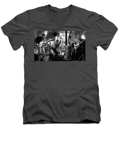 Coldplay 15 Men's V-Neck T-Shirt by Rafa Rivas