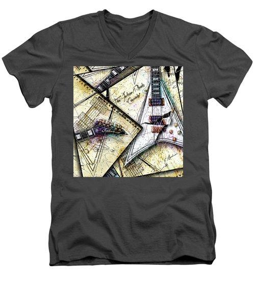 Concordia Men's V-Neck T-Shirt by Gary Bodnar