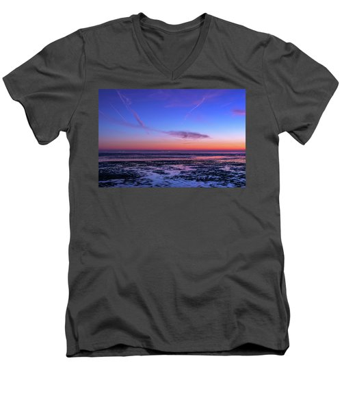 Men's V-Neck T-Shirt featuring the photograph Dream No More by Thierry Bouriat