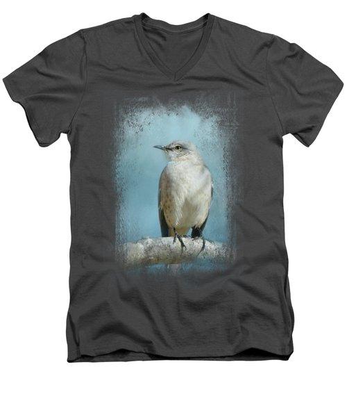 Good Winter Morning Men's V-Neck T-Shirt by Jai Johnson