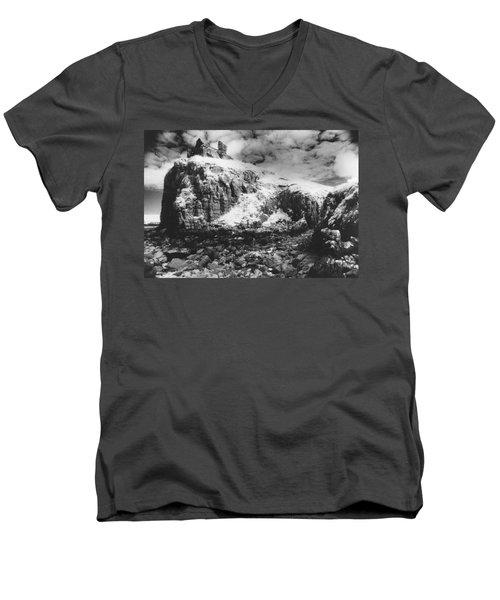 Isle Of Skye Men's V-Neck T-Shirt by Simon Marsden