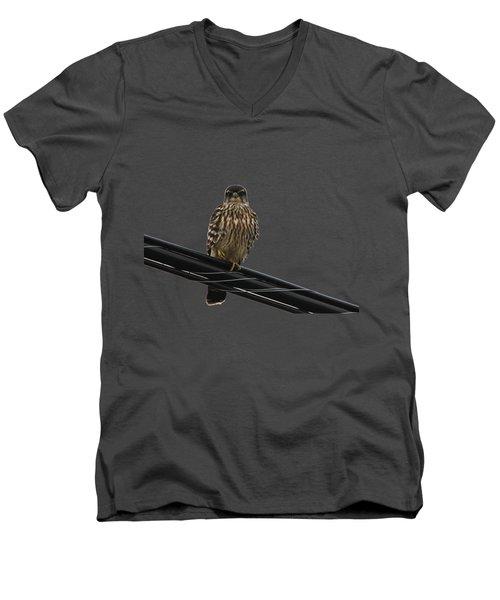 Magical Merlin Men's V-Neck T-Shirt by Debbie Oppermann
