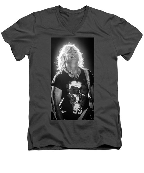 Rick Savage Men's V-Neck T-Shirt by Luisa Gatti