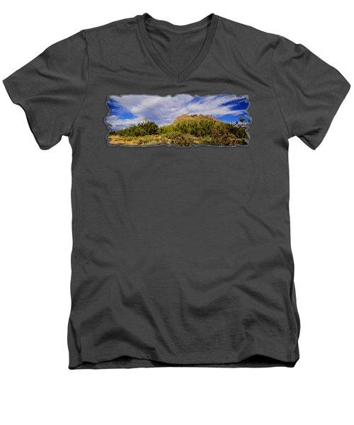 Southwest Summer Op14 Men's V-Neck T-Shirt by Mark Myhaver