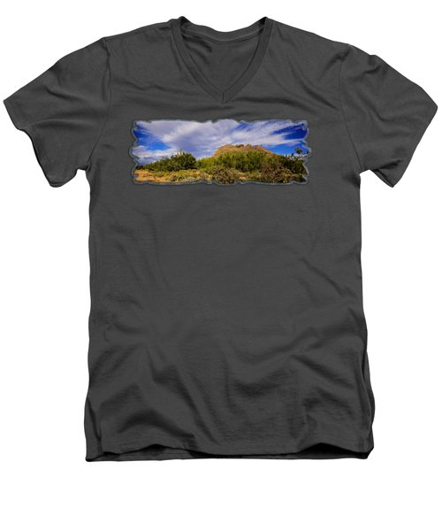 Southwest Summer P12 Men's V-Neck T-Shirt by Mark Myhaver
