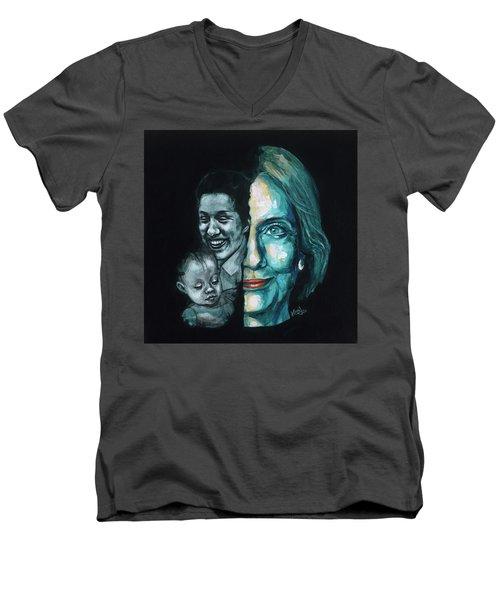 Thanks To Dorothy And Charlotte Men's V-Neck T-Shirt by Konni Jensen