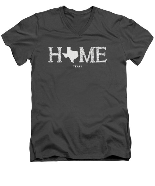 Tx Home Men's V-Neck T-Shirt by Nancy Ingersoll