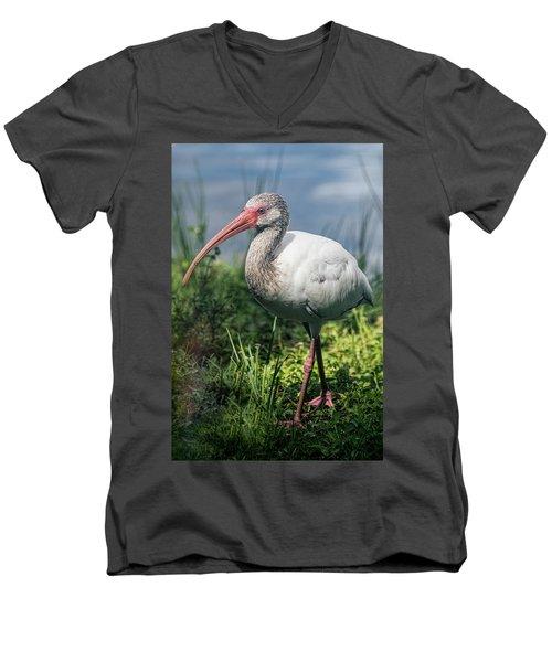 Walk On The Wild Side  Men's V-Neck T-Shirt by Saija Lehtonen