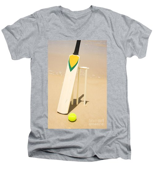 Summer Sport Men's V-Neck T-Shirt by Jorgo Photography - Wall Art Gallery