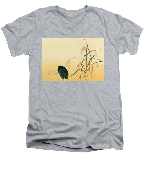 Blackbird Men's V-Neck T-Shirt by Japanese School