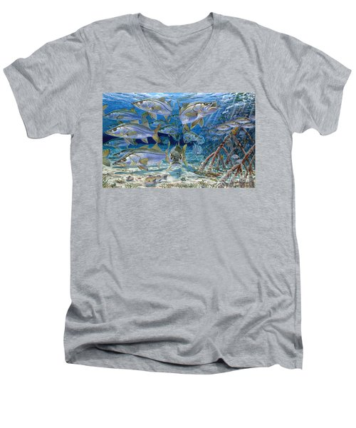 Snook Cruise In006 Men's V-Neck T-Shirt by Carey Chen