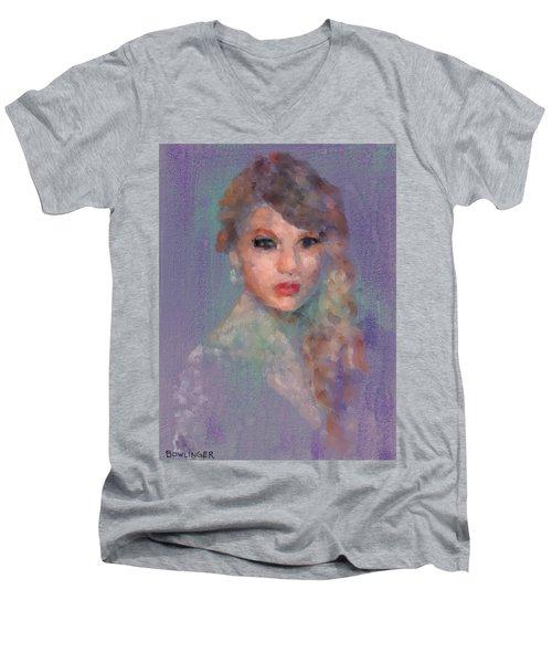 Taylor Men's V-Neck T-Shirt by Scott Bowlinger
