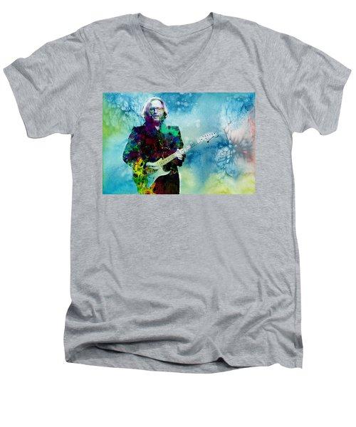 Tears In Heaven 2 Men's V-Neck T-Shirt by Bekim Art