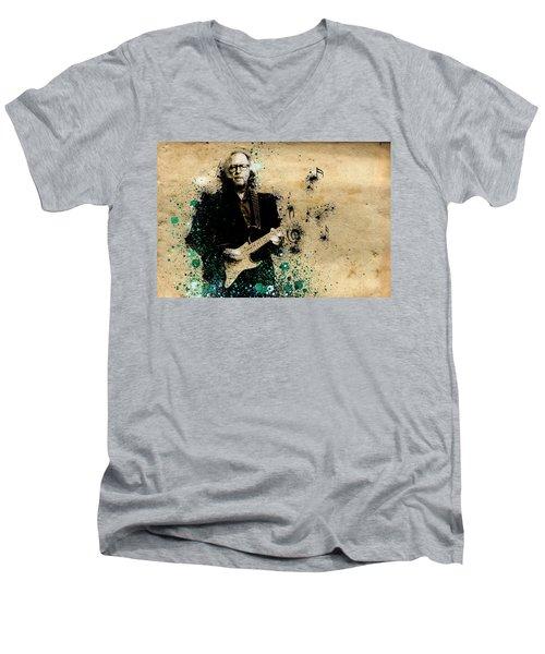 Tears In Heaven Men's V-Neck T-Shirt by Bekim Art