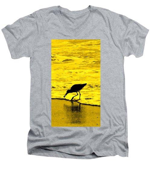 This Beach Belongs To Me Men's V-Neck T-Shirt by Ian  MacDonald