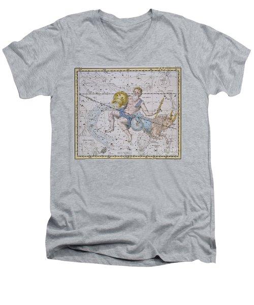 Aquarius And Capricorn Men's V-Neck T-Shirt by A Jamieson