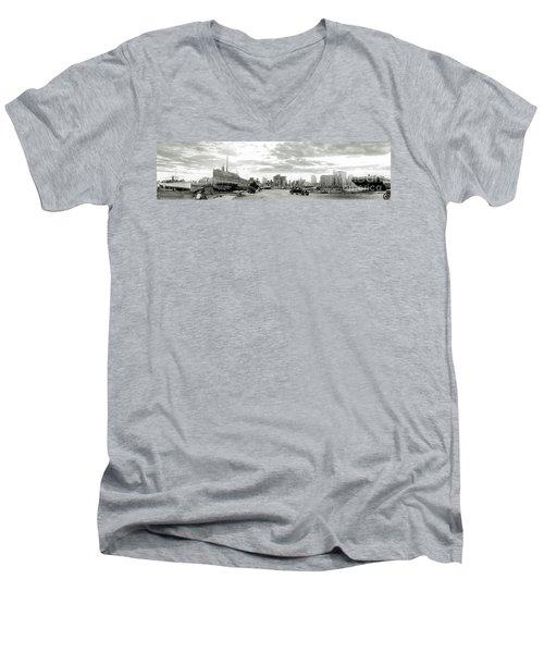 1926 Miami Hurricane  Men's V-Neck T-Shirt by Jon Neidert