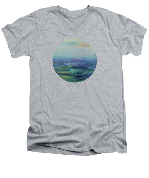 A Place For Peace Men's V-Neck T-Shirt by Mary Wolf