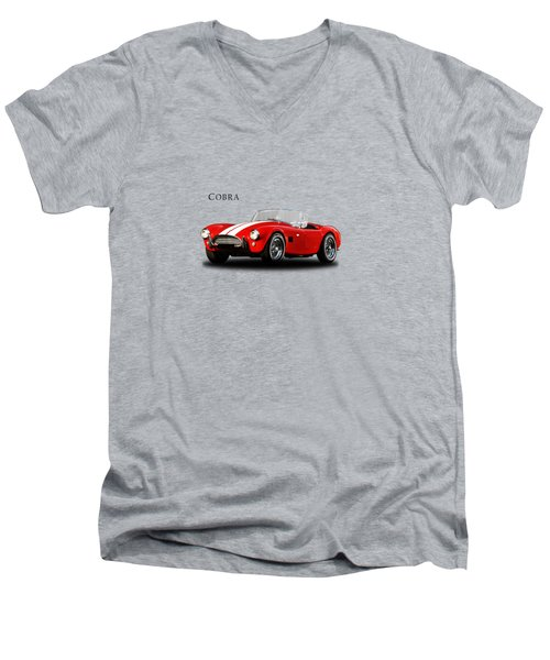 Ac Cobra Mk2 1963 Men's V-Neck T-Shirt by Mark Rogan