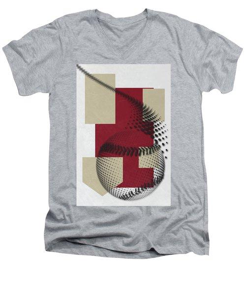 Arizona Diamondbacks Art Men's V-Neck T-Shirt by Joe Hamilton