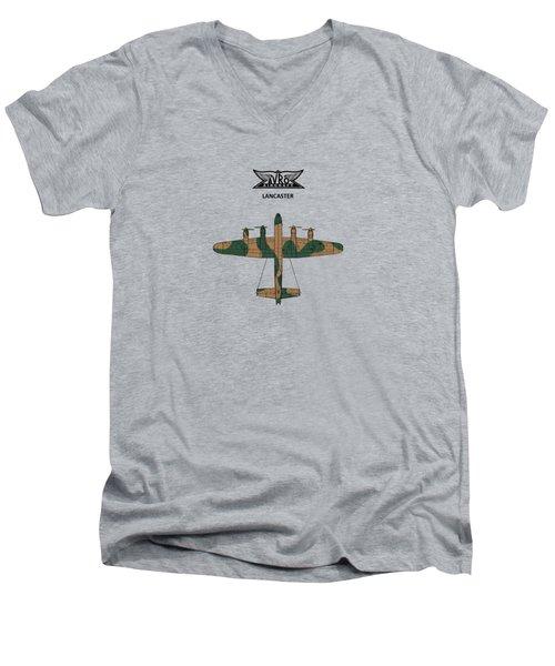 The Lancaster Men's V-Neck T-Shirt by Mark Rogan