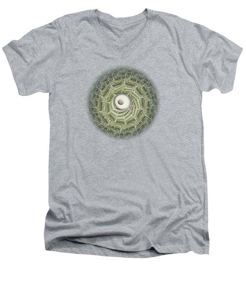 Biohazard Men's V-Neck T-Shirt by Anastasiya Malakhova