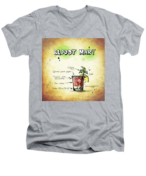 Bloody Mary Men's V-Neck T-Shirt by Movie Poster Prints