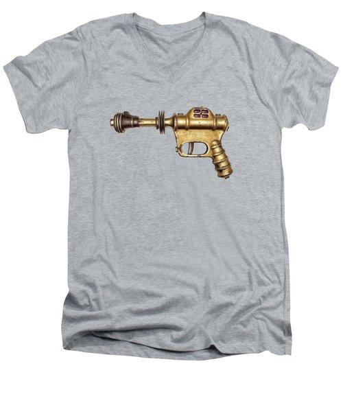 Buck Rogers Ray Gun Men's V-Neck T-Shirt by YoPedro