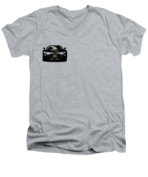 Bugatti Veyron Men's V-Neck T-Shirt by Mark Rogan