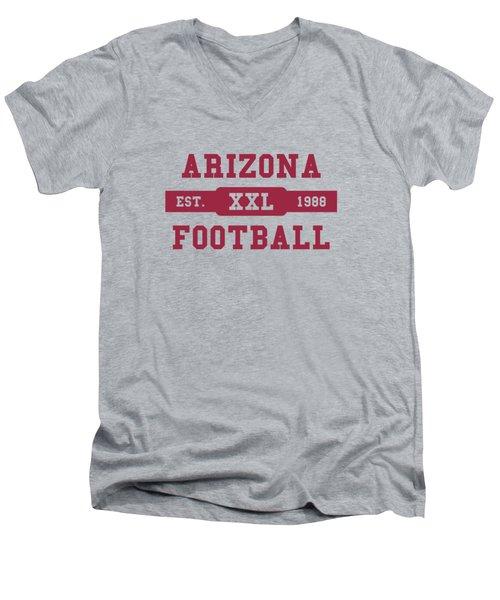 Cardinals Retro Shirt Men's V-Neck T-Shirt by Joe Hamilton