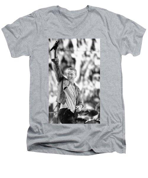 Coldplay13 Men's V-Neck T-Shirt by Rafa Rivas