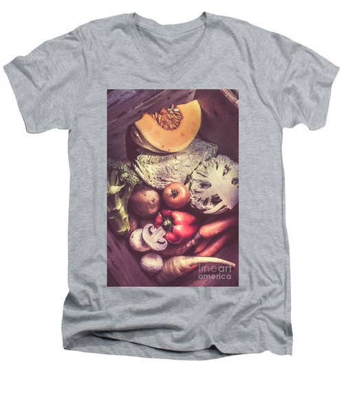 Country Style Foods Men's V-Neck T-Shirt by Jorgo Photography - Wall Art Gallery