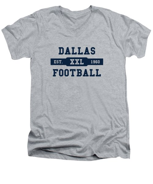Cowboys Retro Shirt Men's V-Neck T-Shirt by Joe Hamilton