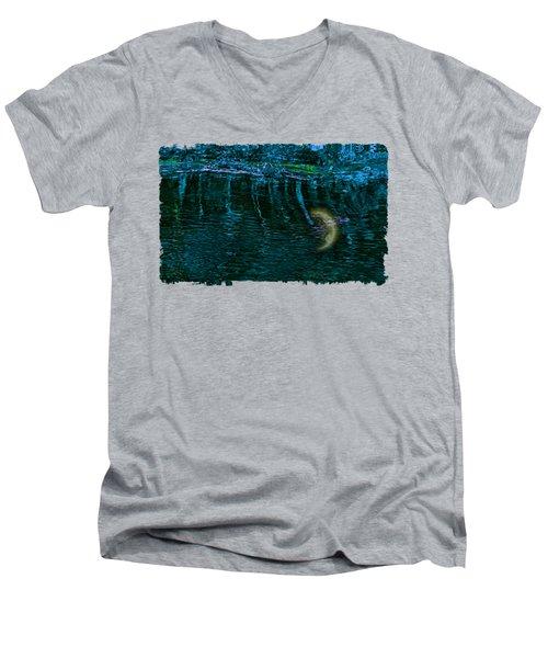 Dark Waters 2 Men's V-Neck T-Shirt by John M Bailey