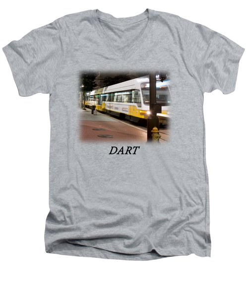 Dart V2 T-shirt Men's V-Neck T-Shirt by Rospotte Photography
