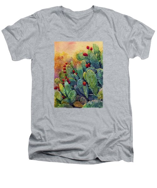Desert Gems 2 Men's V-Neck T-Shirt by Hailey E Herrera
