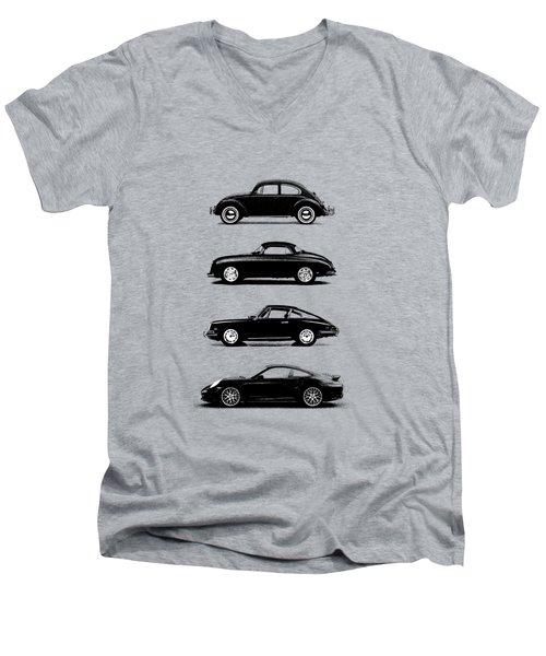 Evolution Men's V-Neck T-Shirt by Mark Rogan